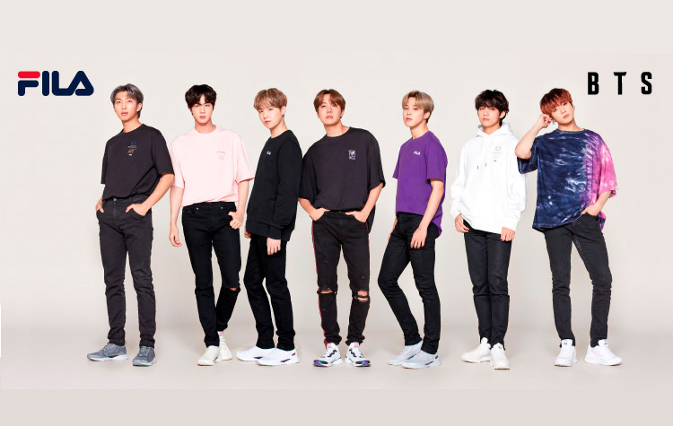 BTS × FILA VOYAGER COLLECTION