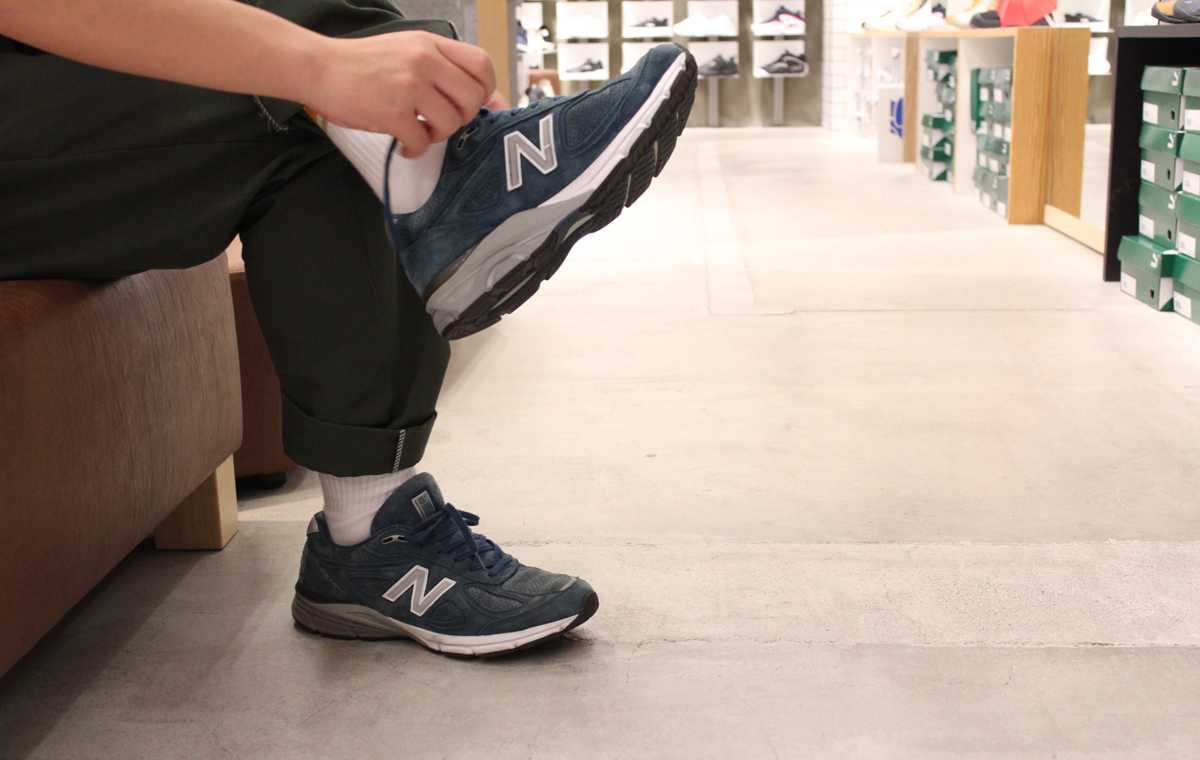 ニューバランスM990 米国製 new balance M990 GRAY MADE IN USA