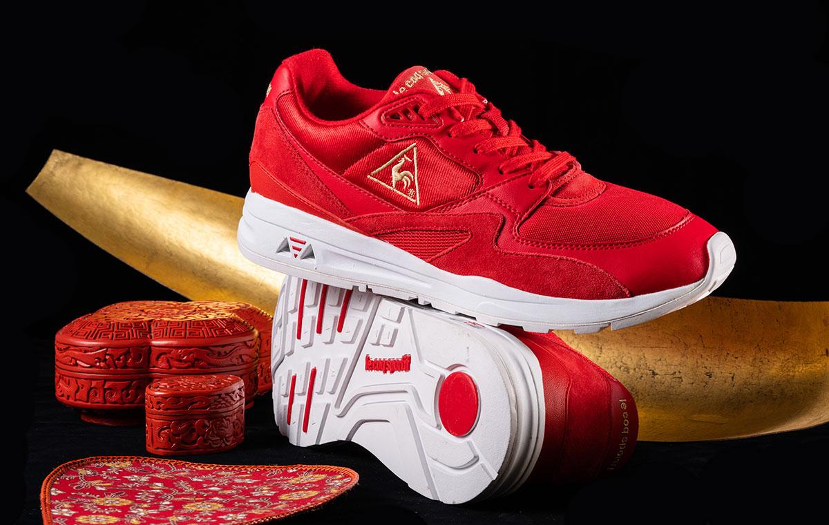ルコックスポルティフ le coq sportif LCS R 800 Chinese Red