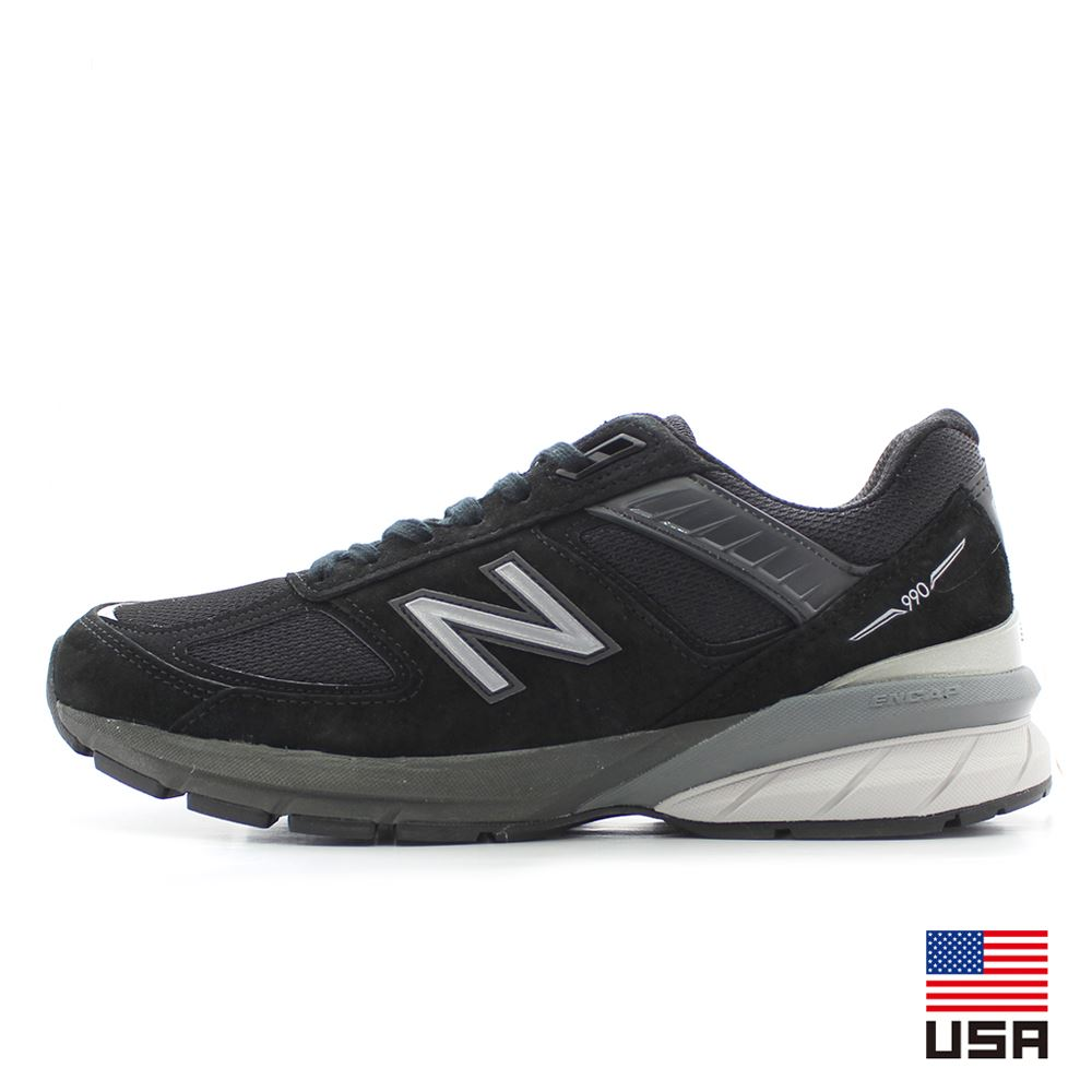 ニューバランス new balance M990 BLACK/SILVER MADE IN USA